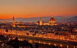Florence night italy