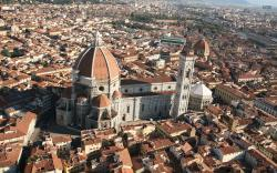 Download Piazza del Duomo, Florence wallpaper