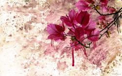 Flower Art Paint
