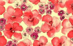 Floral Pattern Wallpaper 1486