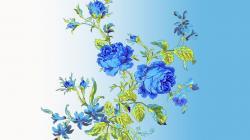 Flowers artwork wallpaper