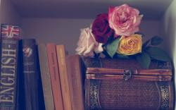 Flowers Roses Books