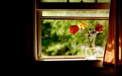 Flowers Window Seat