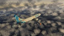 ... Fly Dubai 737-800 infight