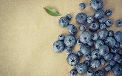 Food Berries Blueberries Leaf