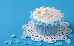 Food Cake Sweet Flowers Dessert