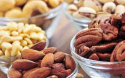 Food Nuts Peanuts Almonds Walnuts