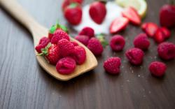 Food Raspberries Strawberries Berry