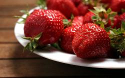 Food Strawberries Berries Red