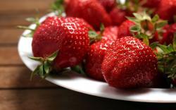 Food Strawberry Leafs