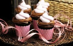 Food Sweet Cupcakes Cream