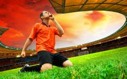 Image: Football Player Thanks Wallpapers And Stock Photos