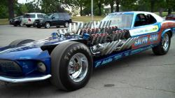 Mach 4 Mustang Dragster