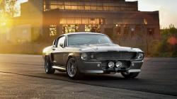 Ford Shelby GT500 Eleanor Muscle Car Photo