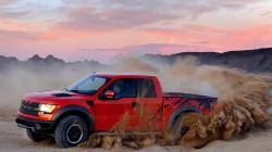 Awesome Orange Raptor Ford Trucks Wallpapers