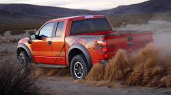 Orange Ford Truck HD Wallpapers