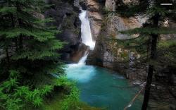 ... Forest Waterfall wallpaper 1920x1080 1080p ...