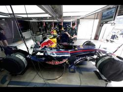 Red Bull F1 Car Garage