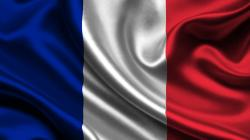 French Flag Wallpaper