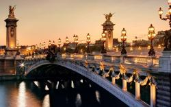 Pont Alexandre Iii France Wallpaper Hd Widescreen High Quality