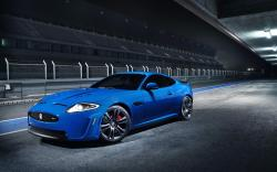 Jaguar Xkr Blue Car Free Hd Wallpapers 2560x1600px