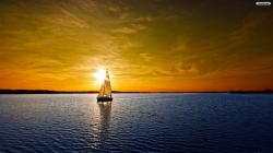 Sailing Boat Wallpaper