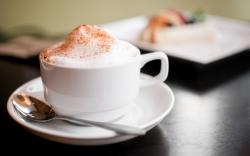 Free Cappuccino Background