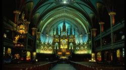 Right click to download Magnificent & Bright Cathedral Wallpaper