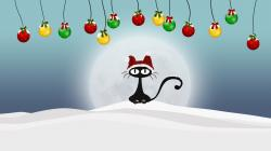Christmas Cat HD Iphone Wallpapers