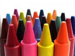 Free Crayon Wallpaper