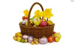 Free Easter Basket Wallpaper 40394 1920x1080 px