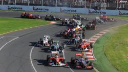 F1 Race Wallpaper