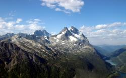 Mountain Peaks Wallpaper