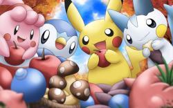 Cute Pokemon Free Desktop Wallpaper