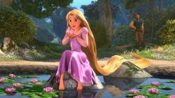 Tangled Rapunzel Desktop Wallpaper HD
