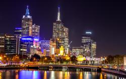 Melbourne City Lights