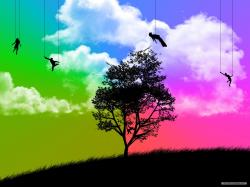 Free Silhouette Wallpaper 33883 1680x1050 px