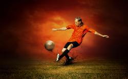Free Soccer Wallpaper 12116