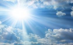 DOWNLOAD: sunlight and clouds.jpg free picture 2560 x 1600