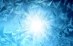 Frost glass sun pattern powerpoint backgrounds templates