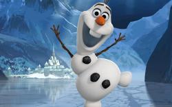 Frozen Olaf Wallpaper