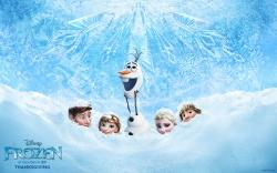 Frozen Movie poster payoff Wallpaper HD