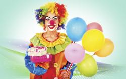 Funny Clown Balloons Gifts