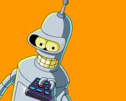 Futurama Bender Wallpaper HD For Iphone