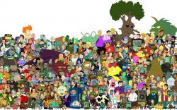 Futurama Logo Wallpaper Futurama wallpaper 591425