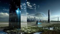 amazing future world high resolution wallpaper