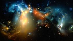 Fantasy Galaxy Desktop Wallpaper