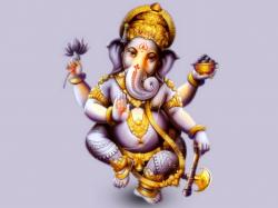 Ganesha, one of the best-known and most worshipped Hindu deities, said to