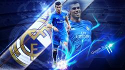 Gareth Bale Wallpaper azul by BardockSonic