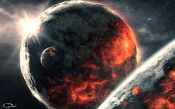Gas Planets Crash